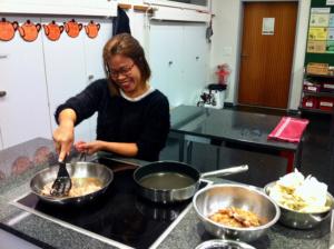 Japanische Küche mit Natsume Furer