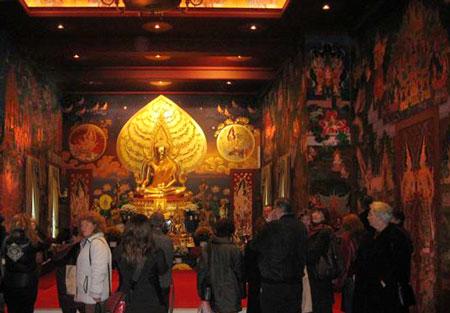 BESUCH – Buddhistisches Zentrum 2008