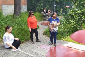 """""""Minigolf-Turnier zum Abschluss des Alphakurses, Juni 2019"""""""