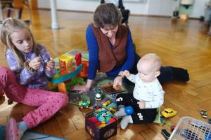 Kinderbetreuung der Deutschkurse