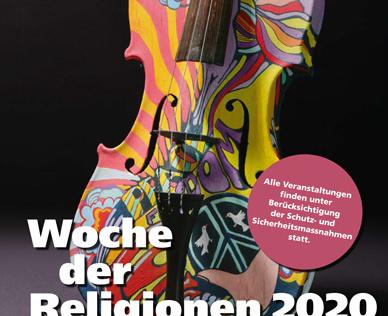 Flyer Woche  der  Religionen 2020